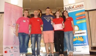 Reprezentantii InfoCons au participat la Festivalul de Arte pentru copii THE JOY of LIFE