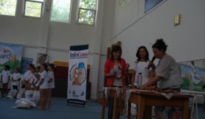 InfoCons a premiat gimnastele participante in cadrul competitiei Cupa Andreea Raducan