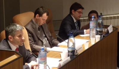 Eveniment realizat in cadrul unui proiect european cu participarea InfoCons, asociatie de consumatori, si ADICAE – Spania in sala Bibliotecii Academiei Romane