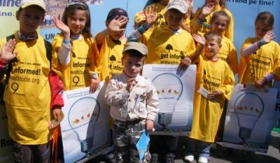 """Eveniment 1 Iunie """"Ziua Copiilor"""", organizat de InfoCons in parteneriat cu I.G.P.R. – Institutul de Prevenire a Criminalitatii"""