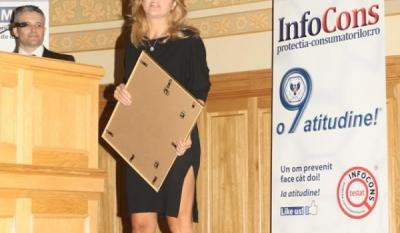 Doamna Florentina Opris – Realizator TV emisiune de educare si informare in domeniul sanatatii – Ambasador al Miscarii de Protectia Consumatorilor