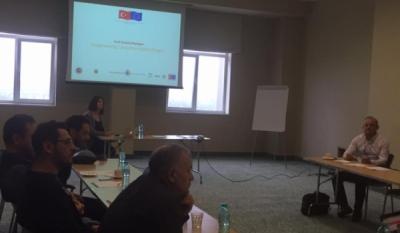 Vizită de studiu în România - TRACORE