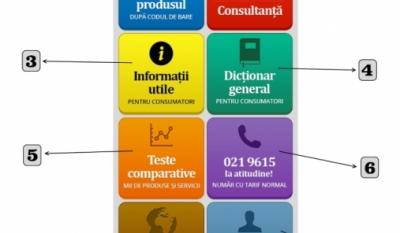 Disponibilitate serviciu identificare produse prin aplicatie