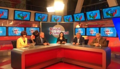 Reprezentanta InfoCons, Iulia Șhirgher, în direct la National TV