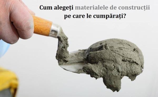 Piața materialelor de construcții din România - SuperConsumatorul, 14 Noiembrie