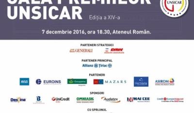 Președintele InfoCons, Sorin Mierlea, participă la cea de-a XIV-a editie a GALEI PREMIILOR UNSICAR
