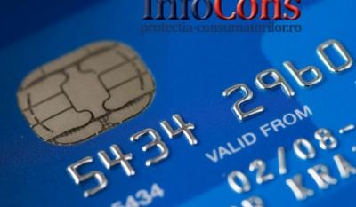 Escrocherii prin cont bancar, card de credit sau cont online