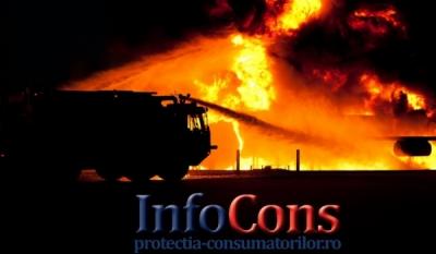 Cum să ne comportăm în cazul unui incendiu.