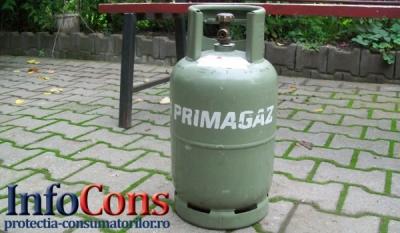 Umplerea buteliilor pentru gaz petrolier lichefiat (GPL) tip aragaz