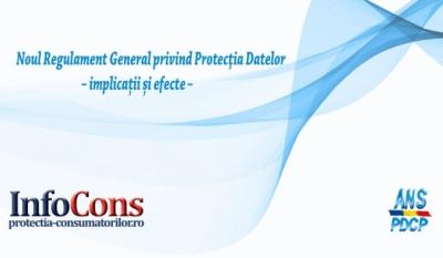 """Președintele InfoCons, Sorin Mierlea, participă la Simpozionul """"Noul Regulament General privind Protecția Datelor – implicații și efecte"""""""