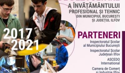 Reprezentanții InfoCons participă la întâlnirea de lucru privin Strategia de Dezvoltare a Învățământului Profesional și Tehnic din Municipiul București și Județul Ilfov