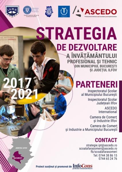 Reprezentanții InfoCons participă la întâlnirea de lucru privin Strategia de Dezvoltare a Învățământului Profesional și