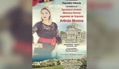Președintele InfoCons, Sorin Mierlea, participă la Spectacolul Artistic Albanezo-Român organizat de Soprana Arlina Morava