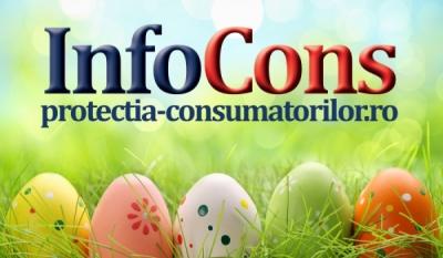 InfoCons trage un semnal de alarmă cu privire la comercializarea de Ouă pentru Paște gata vopsite