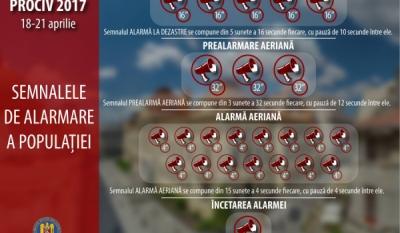 IGSU pregătește un exerciţiu de testare a sistemului de alarmare publică