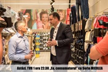 """Urmăriți """"Eu, consumatorul"""" în această seară, de la 22:30, pe TVR1"""