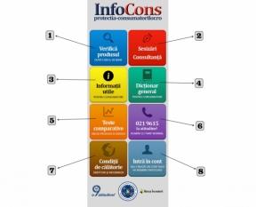 Noi produse disponibile în Aplicația InfoCons - Scanează codul de bare