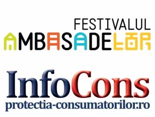 InfoCons partener la Festivalul Ambasadelor