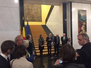 Președintele InfoCons, Sorin Mierlea, prezent la evenimentul organizat cu ocazia Zilei Federației Valonia-Bruxelles și a Valoniei