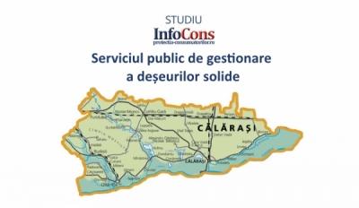 În 40.63% dintre Primăriile din Călărași nu există implementat un sistem de colectare selectivă la nivelul tuturor imobilelor administrației
