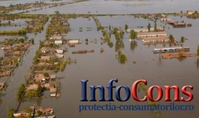 După producerea inundaţiei