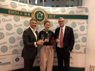 Președintele InfoCons, Sorin Mierlea, participă la Gala Premiilor pentru Un Mediu Curat