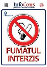 Informatii  referitoare la interzicerea fumatului în spațiile închise