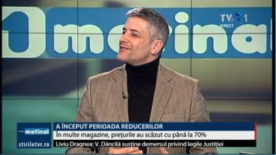Președintele InfoCons, Sorin Mierlea, în direct la postul de televiziune TVR1