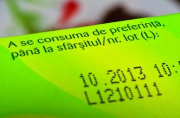12% dintre consumatorii români nu înțeleg termenul de valabilitate de pe ambalajul produselor!