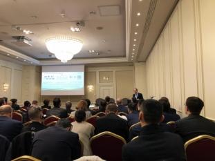 Domnul Sorin Mierlea, președintele InfoCons participă la seminarul