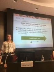 Reprezentantul InfoCons participă la cea de-a doua parte a conferinței organizată în cadrul Proiectului European