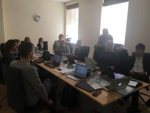 Reprezentantul InfoCons participă la întâlnirea de lucru din cadrul Proiectului European