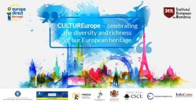 """Asociația InfoCons partener în cadrul evenimentului """"CULTUREurope – celebrating the diversity and richness of our European heritage"""""""