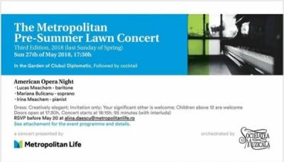Preşedintele Infocons participă la evenimentul organizat de Metropolitan Life