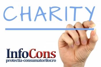 Escrocherii prin acţiuni de caritate