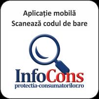 Noi produse disponibile în Aplicația InfoCons - Scanează codul de bare - InfoCons