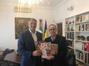 Întâlnire între președintele InfoCons și Ambasadorul Mexicului