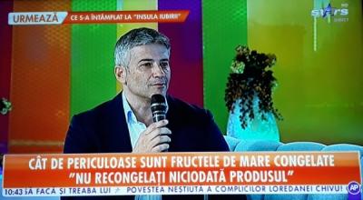 Domnul Sorin Mierlea va fi în direct la postul de televiziune Antena Stars