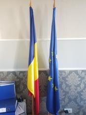 Arborarea steagului României în instituțiile din țară