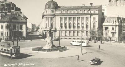 Piața Romană, ieri și azi - o9atitudine pentru cultură