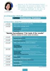 Sorin Mierlea, președintele InfoCons, participă la conferința despre supravegherea piețelor, din cadrul International Product Safety Week 2018