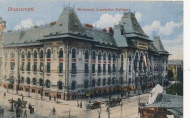 Palatul Ministerului Lucrărilor Publice (Primăria București), ieri și azi - o9atitudine pentru cultură