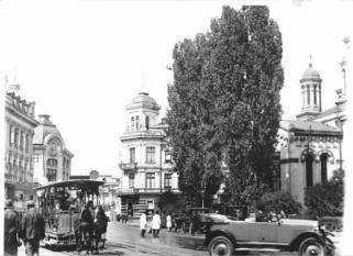 Biserica și Piața Zlătari, ieri și azi - o9atitudine pentru cultură