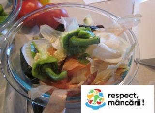 O reinventare a celor mai comune resturi alimentare !