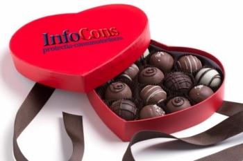 Cutia de fericire - Bomboane de Ciocolată