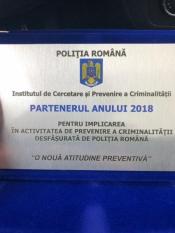 """Domnul Sorin Mierlea participă la întâlnirea """"Partenerul prevenirii criminalității, în anul 2018"""""""