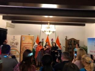 Domnul Sorin Mierlea participă la evenimentul organizat de Ambasada Indiei