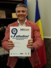 Sorin Mierlea, președintele InfoCons, a publicat un articol în numărul din ianuarie al revistei Info Italia
