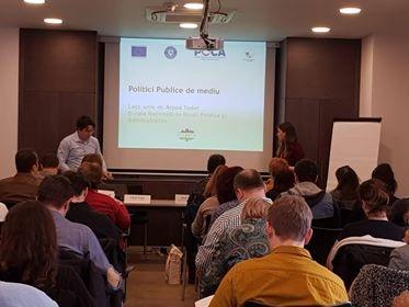Reprezentantul InfoCons participă la sesiunea de instruire cu tema Politici publice pentru dezvoltare durabilă
