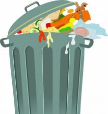 87 kg de deșeuri municipale generate pe persoană